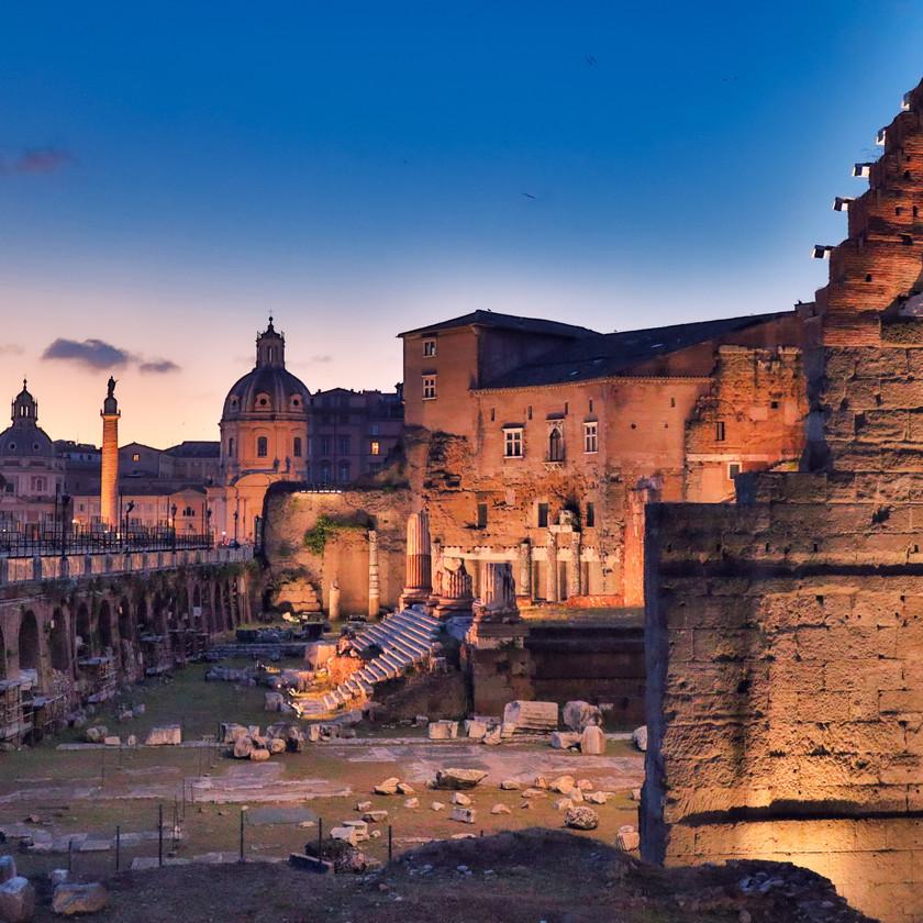 Teile des Forum Romanum