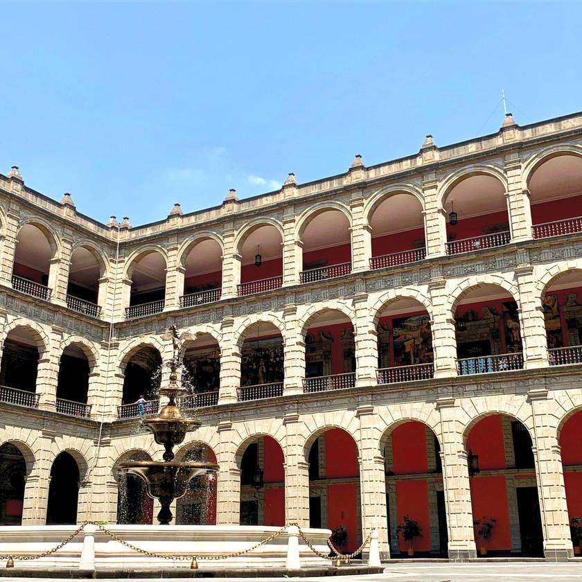 Innenhof vom Palacio National