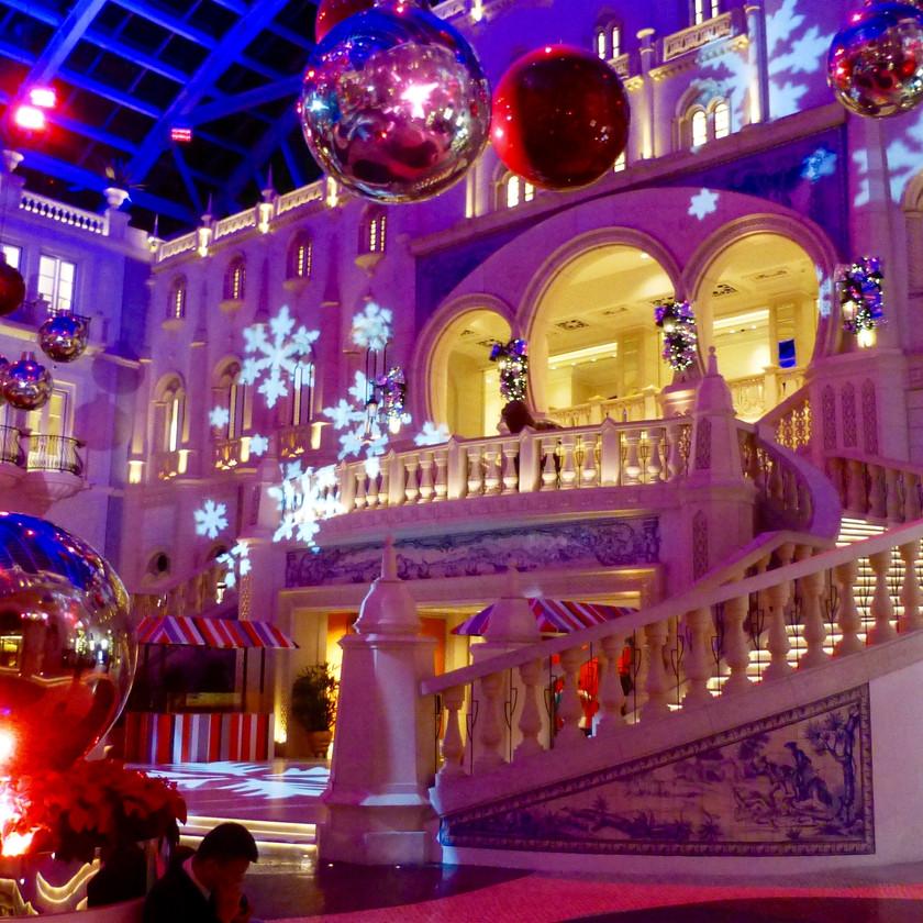 Weihnachtsstimmung in Macau