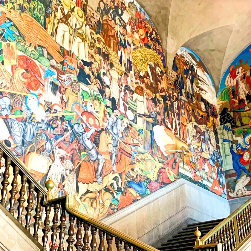 Murales von Diego Rivera