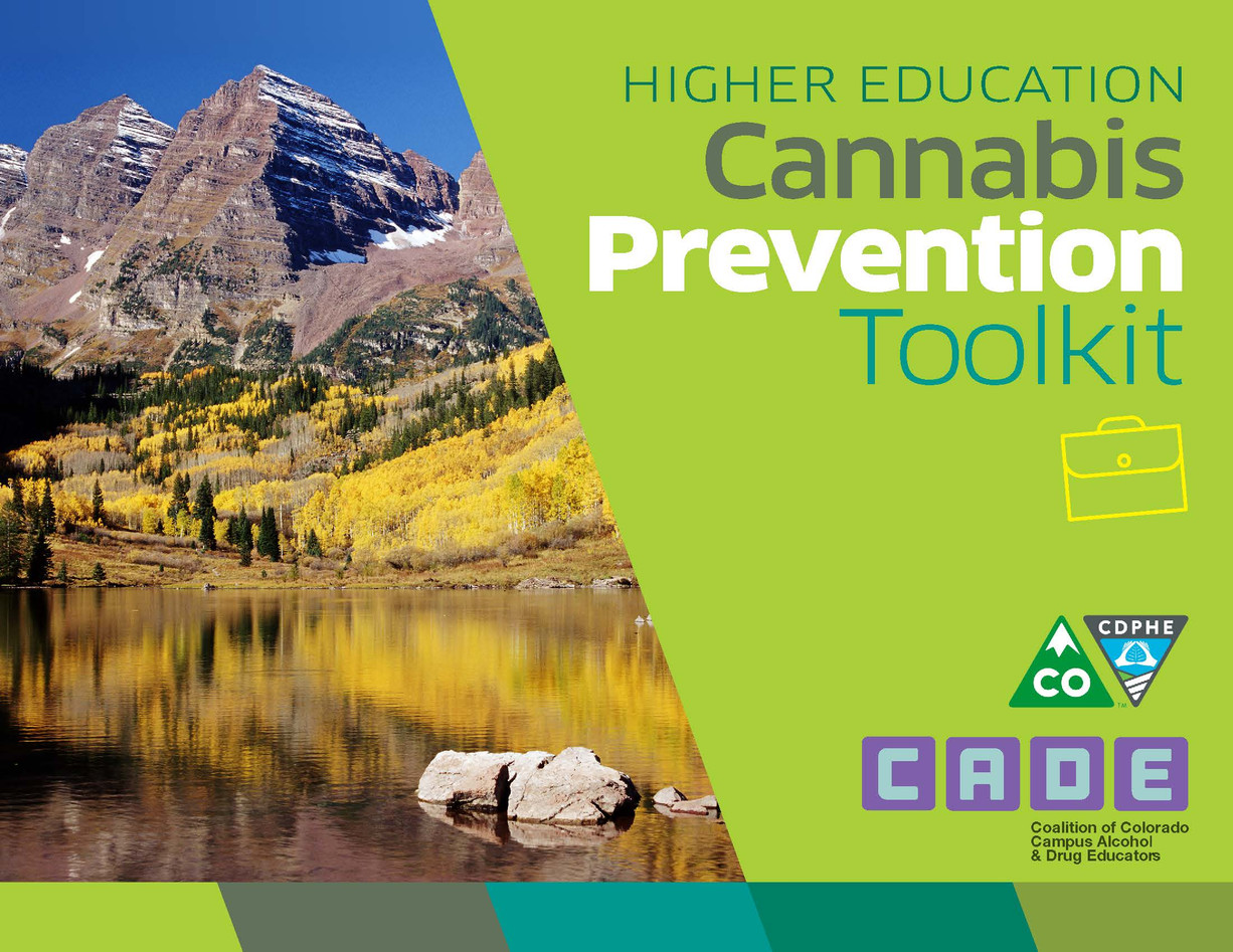 Higher Education Cannabis Prevention Toolkit