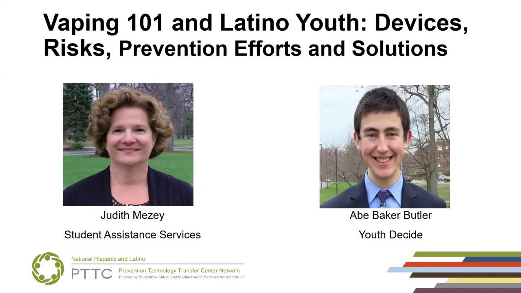 Vaping 101 and Latino Youth: Devices, risks, prevention efforts and solutions
