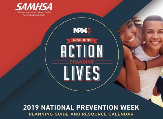 2019 SAMHSA Prevention Week Toolkit