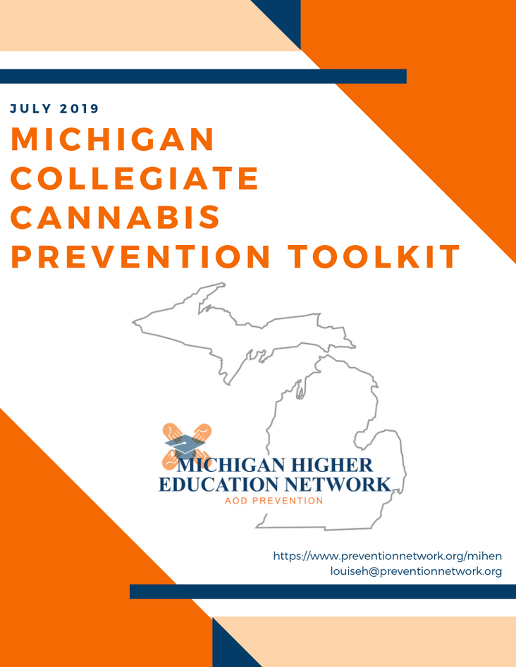 Michigan Collegiate Cannabis Prevention Toolkit