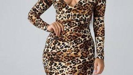 Sassy Leopard Dress