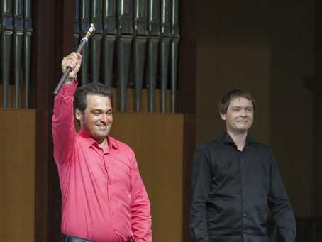 В эти выходные, 17 и 18 июля, с успехом состоялся премьерный концерт «Магия дудука»