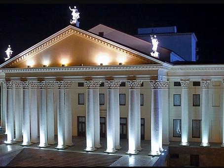 В Зимнем театре завершены работы по ремонту кровли