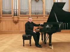 Денис Громов выступил в Большом зале Московской консерватории