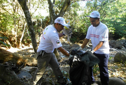 Campaña de limpieza en municipio de Las Vueltas
