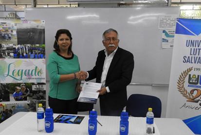 Convenio con Universidad Luterana Salvadoreña