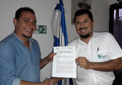 Firma de convenio con alcaldía de Las Vueltas, Chalatenango
