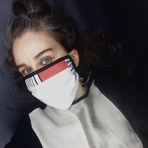 Maske BAUHAUS Falte