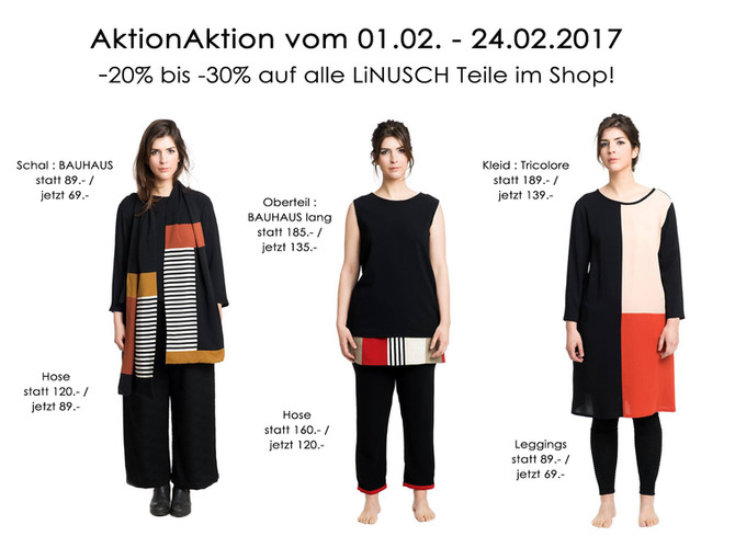 AktionAktion im LiNUSCH Shop