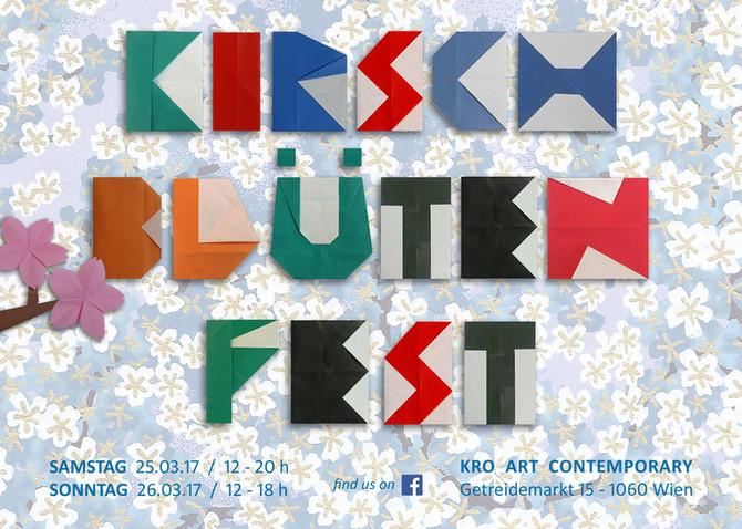Kirschblütenfest in der Galerie KRO ART Contemporary