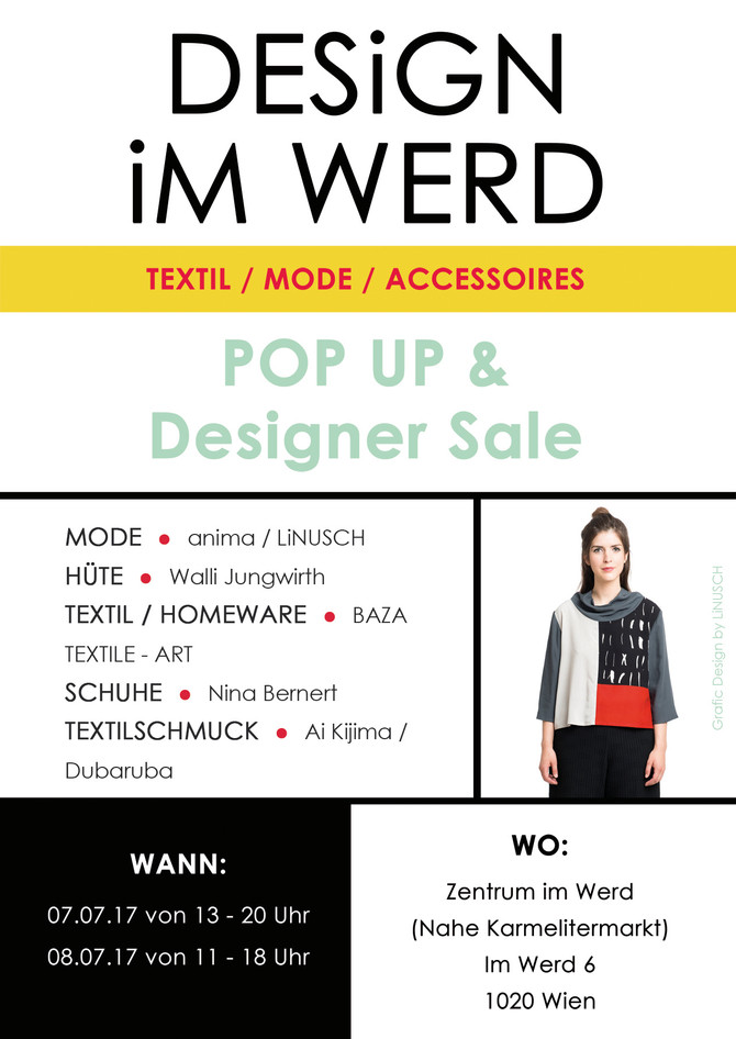 DESiGN iM WERD Pop Up & Designer Sale