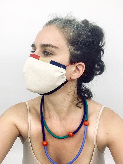 Maske MONDRIAN Schale