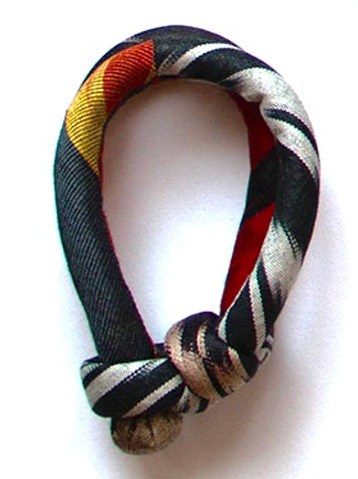 Textilschmuck Ikat - Armreifen