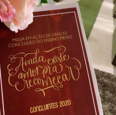 Colégio Diocesano - Convite de formatura