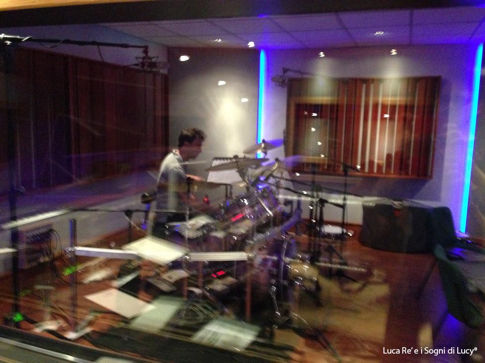 Stefano Marinucci alla batteria