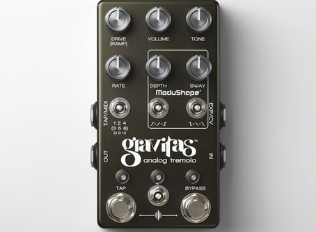 Review: Chase Bliss Audio Gravitas Tremolo