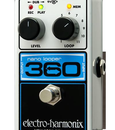 Review: Electro-Harmonix Nano 360 Looper