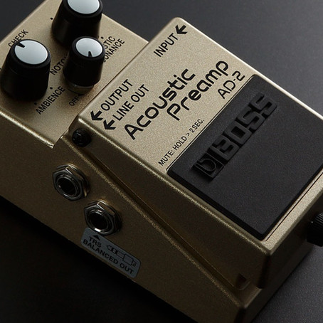 Review: BOSS AD-2 Acoustic Preamp