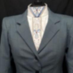 Custom Hunt coat in spruce plaid