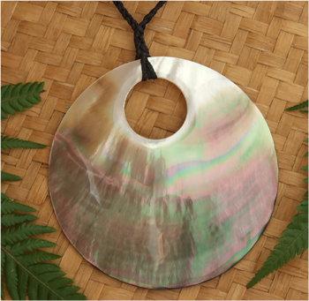 Black Pearl Creole Pendant (93022BX)