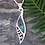 "Thumbnail: Our ""Hope"" NZ Paua Shell Sterling Silver Pendant  3096"