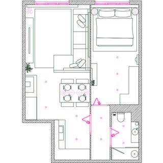 Plano de muebles