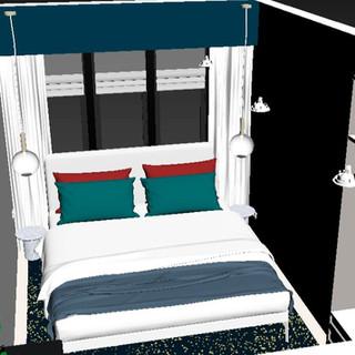 3D Max Habitación