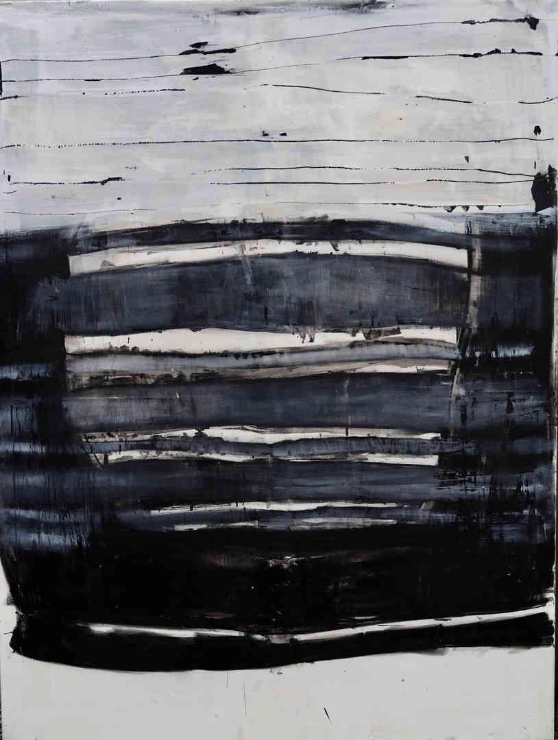 2018 mixed media on canvas 120 x 160cm