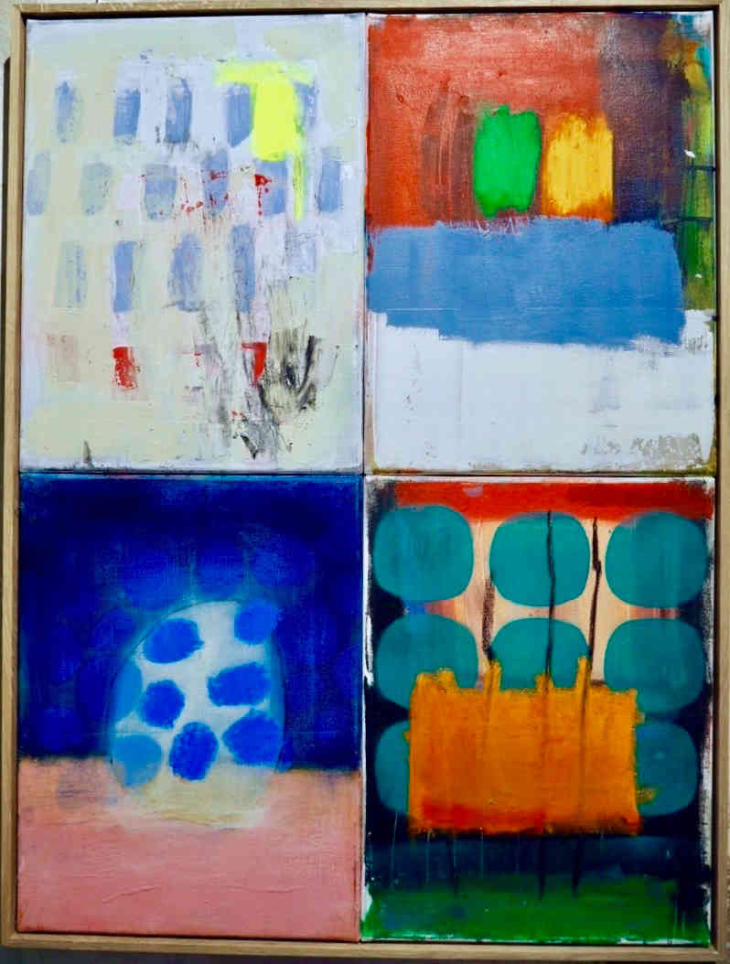2019 mixed media on canvas 60 x 80cm