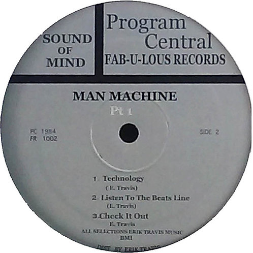 Sound Of Mind -  Man Machine