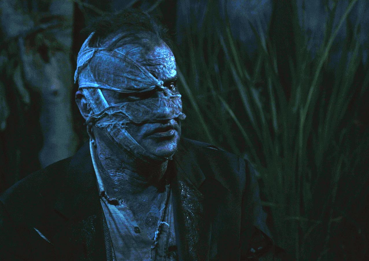 "Gisbert Heuer as The Monster in ""The Gravedigger"" Directed by Erynn Dalton, written by Joseph Zettelmaier"