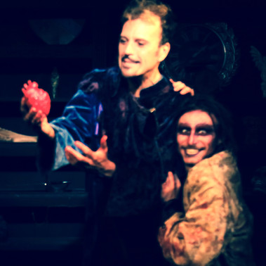 Theatre of Terror Infinite Abyss Productions Written & Directed by Erynn Dalton Pictured: Dominick J. Daniel, Tyler Kane