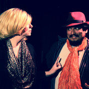 Theatre of Terror Infinite Abyss Productions Written & Directed by Erynn Dalton Pictured: Siobhan Nolan, Fernando Barron II