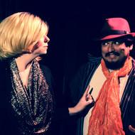 Theatre of Terror Infinite Abyss Productions Written & Directed by Erynn Dalton Pictured: Siobhan Nolan, Fernando Barron II