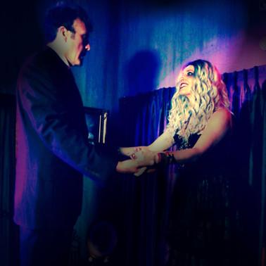 Theatre of Terror Infinite Abyss Productions Written & Directed by Erynn Dalton Pictured: Dominick J. Daniel, Erynn Dalton
