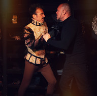 Theatre of Terror Infinite Abyss Productions Written & Directed by Erynn Dalton Pictured: Dominick J. Daniel, Mitch Lemos
