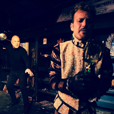 Theatre of Terror Infinite Abyss Productions Written & Directed by Erynn Dalton Pictured: Mitch Lemos, Dominick J. Daniel
