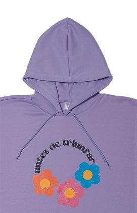 Antes de Triunfar Hoodie - Purple