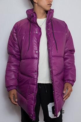Puffer Jacket - Purple