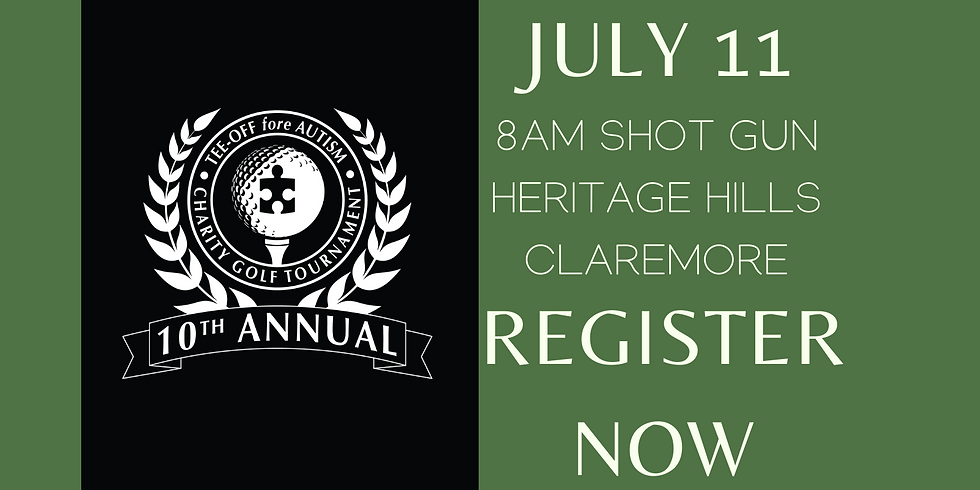 10th Annual Tee off fore Autism Golf Tournament