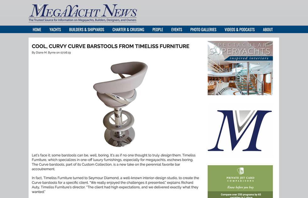 MEGAYACHT NEWS ON CURVE