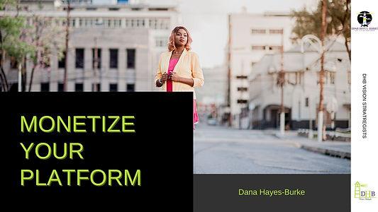 Monetize Your Platform