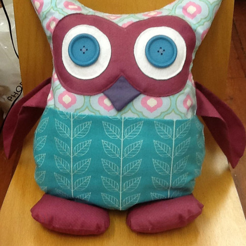 Owl and Sewing Cat Patterns