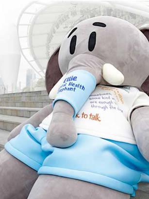 Ellie, the Mental Health Elephant
