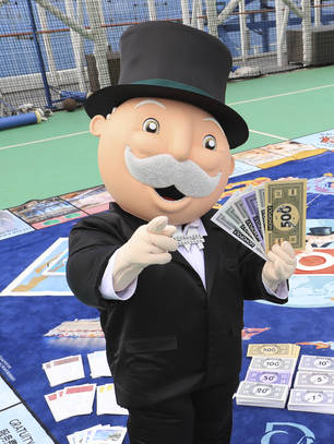 Rich Uncle Pennybags, Monopoly
