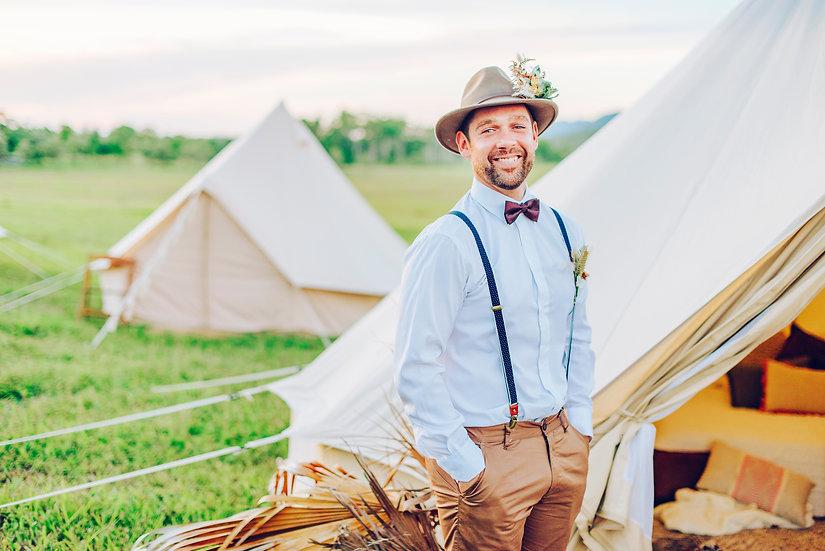 4m Twin share - THREE night hire - Muncee wedding